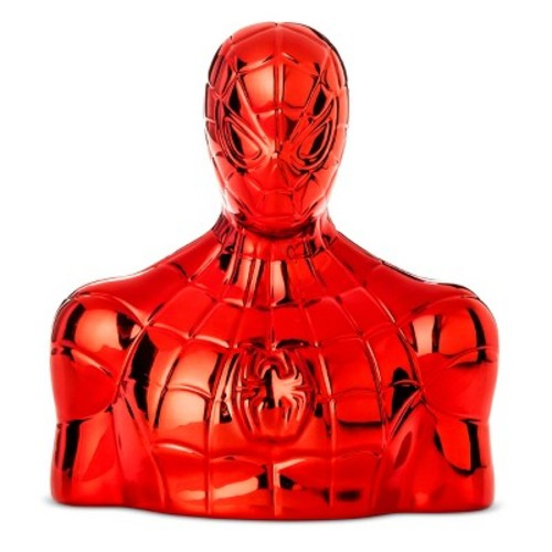 Spider-Man Red Ceramic Bank