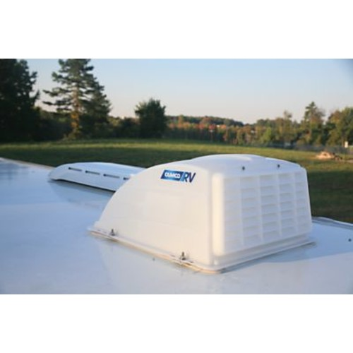 Camco RV Roof Vent Cover [MODEL : ROOF VENT COVER WHT]
