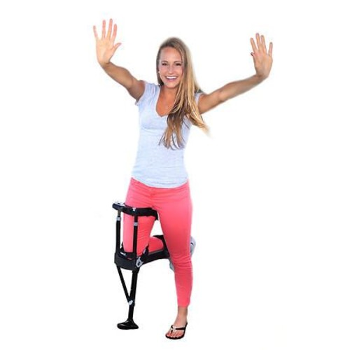 Drive Medical Dual Pad Steerable Knee Walker with Basket Silver