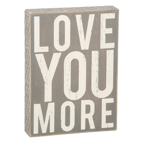 Primitives by Kathy Love You Sign