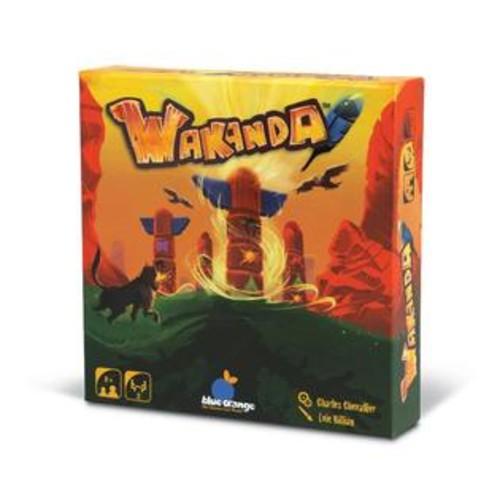 Blue Orange Games Wakanda Totem Pole Building Game