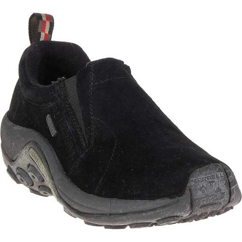 Merrell Women's Jungle Moc Waterproof Slip-On Shoe [Black, 5 B(M) US]