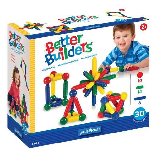 Guidecraft Better Builders - 30 Piece Set