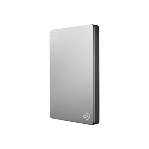 Seagate  Backup Plus Slim 2TB 640 Mbps USB 3.0 Portable Hard Drive, Black/Silver (STDS2000100)