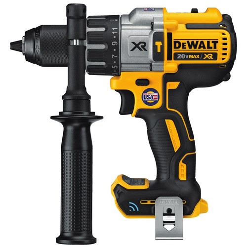 DEWALT 20-Volt MAX XR with Tool Connect Premium Brushless Lithium-Ion Hammer Drill/Driver (Tool Only)
