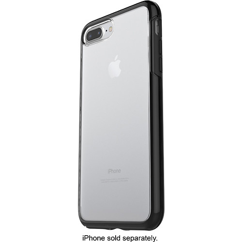 OtterBox - Symmetry Series Case for Apple iPhone 7 Plus - Black Crystal