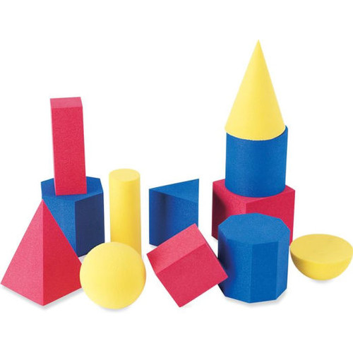 Learning Resources Hands-On Soft Foam Geometric Solids