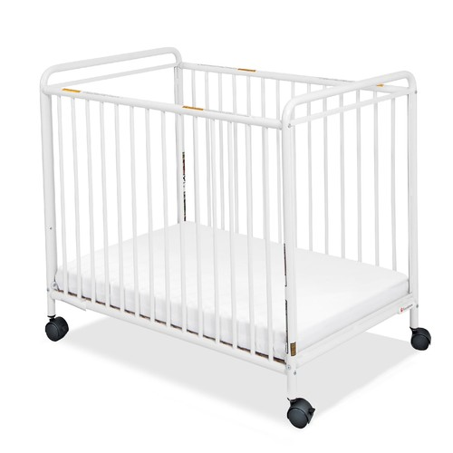 Foundations 2062097 Chelsea Non-Folding Steel Crib - White