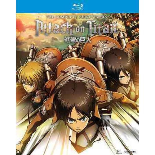 Attack On Titan: Complete Season One (Blu-ray Disc)