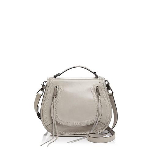 REBECCA MINKOFF Vanity Leather Saddle Bag