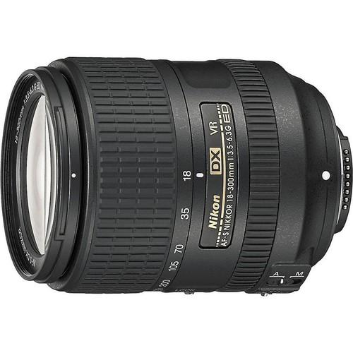 Nikon AF-S DX Nikkor 18-300mm f/3.5-6.3 ED VR Zoom lens for DX format Nikon DSLR cameras