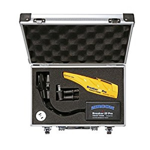 Zircon Breaker ID Pro - Commercial and Industrial Complete Circuit Breaker Finding Kit / Compatible with Outlets up to 270 Volts / Professional Accessories Included FFP [Frustration-Free Packaging]