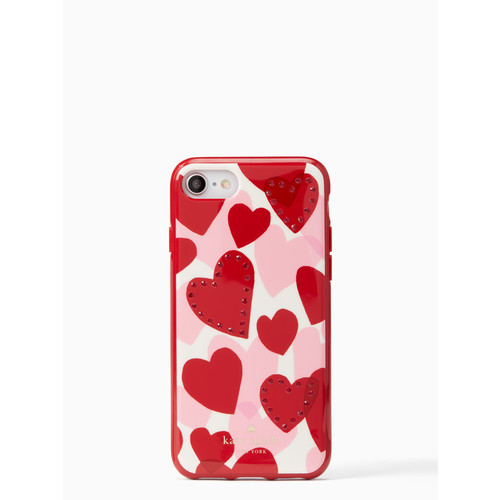jeweled heart iPhone 7/8 case