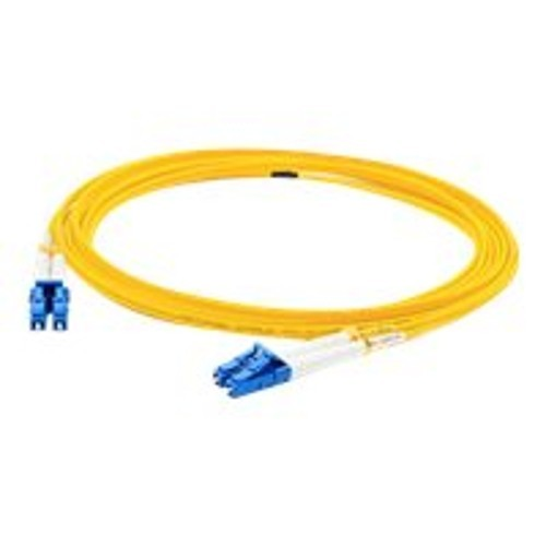 AddOn Networks 25m Single-Mode fiber (SMF) Duplex LC/LC OS1 Yellow Patch Cable (ADD-LC-LC-25M9SMF)