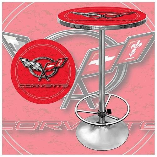 Trademark Global Corvette C5 Pub Table - Red