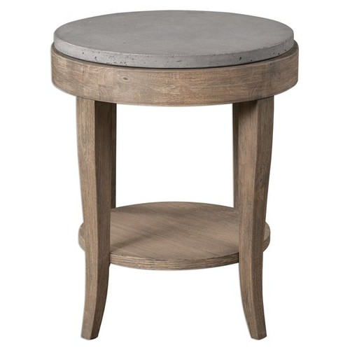 Uttermost Coffee, Console, Sofa & End Tables Deka Round Accent Table
