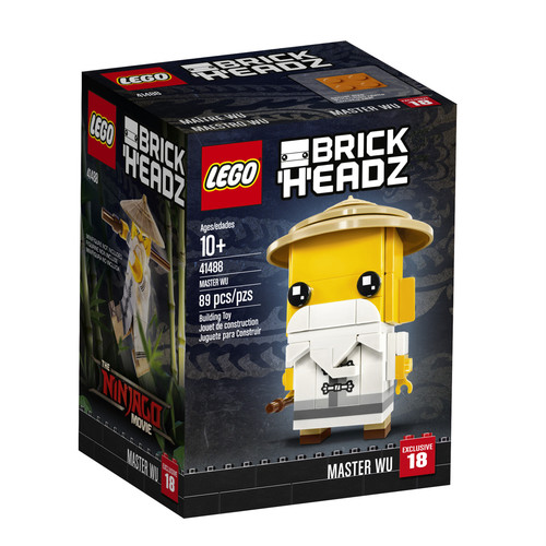 LEGO BrickHeadz The Ninjago Movie Master Wu (41488)