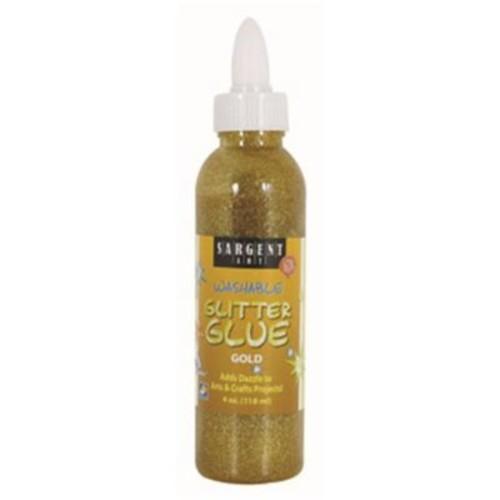 4 oz. Glitter Glue - Gold (RTL145542)