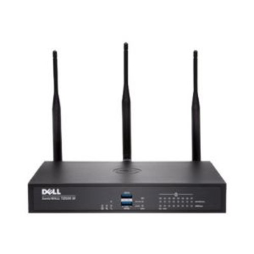 Dell SonicWALL TZ500 Wireless-AC - Advanced Edition - security appliance - 8 ports - 10Mb LAN, 100Mb LAN, GigE - 802.11a/b/g/n/ac - Dual Band - SonicWALL Secure Upgrade Plus Program (2 years option)