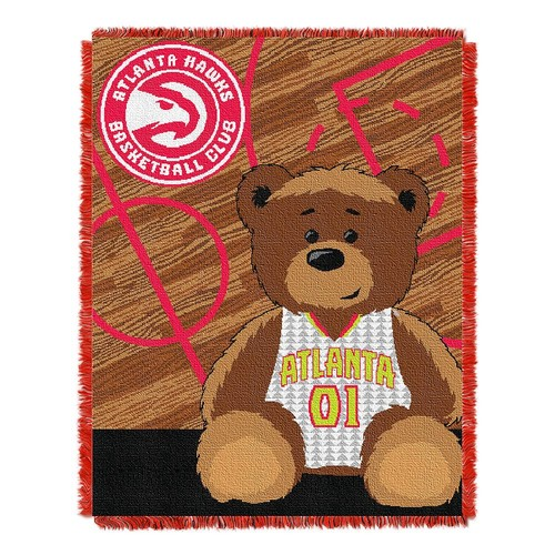 Atlanta Hawks Baby Jacquard Throw