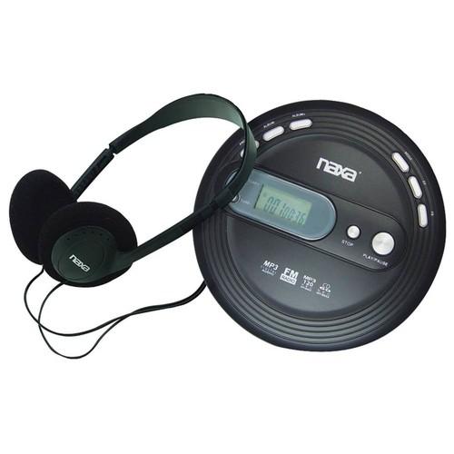 Naxa Slim Personal CD-MP3 Player with FM Radio
