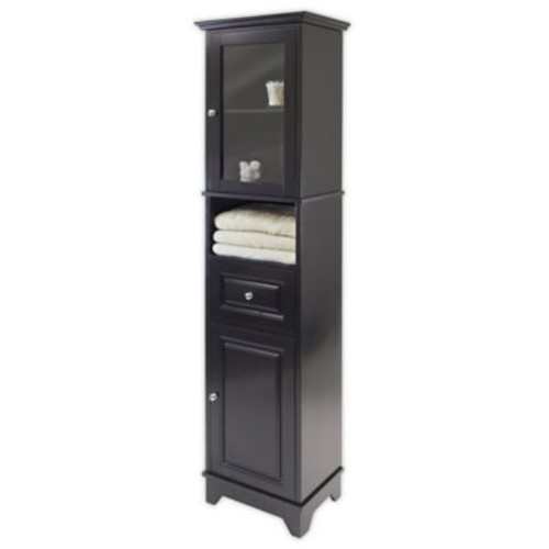 Winsome Trading Alps Cabinet in Black