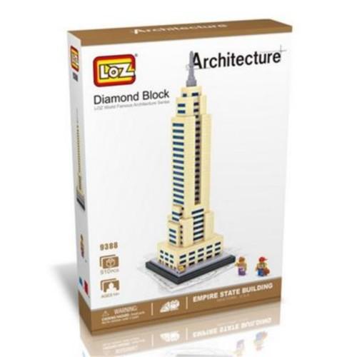 CIS Empire State Building Model, Micro Building Blocks Set (CISA298)