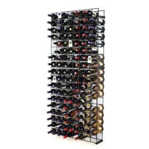 Wine Enthusiast 144-Bottle Black Floor Wine Rack