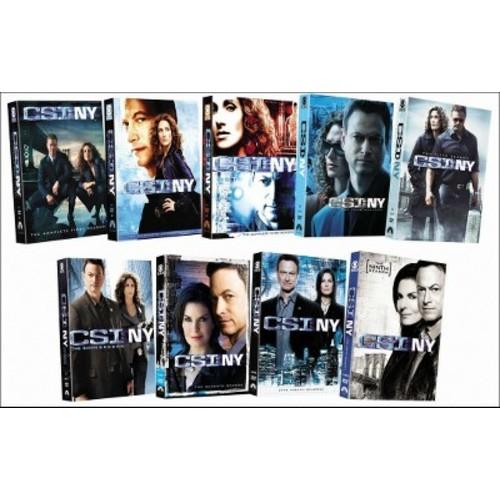 Csi:Ny complete series (DVD)