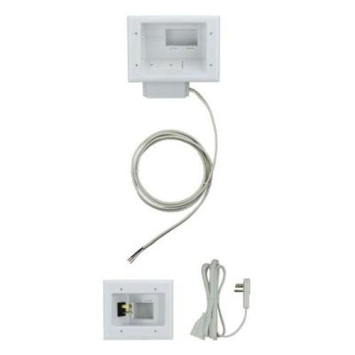 Commercial Electric Flat Panel TV Cable Organizer Kit