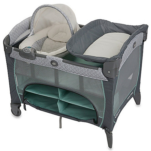 Graco Pack n Play Playard Newborn Napper Station DLX in Manor