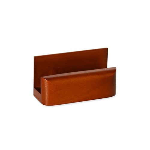 Rolodex Wood Tones Business Card Holder, Capacity 50 Cards Of 2.25 X 4 Inches, Mahogany (23330)
