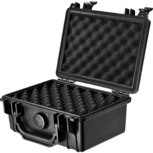 Barska BH11856 HD-100 2-Layer Egg Crate Foam Loaded Gear Black Hard Case