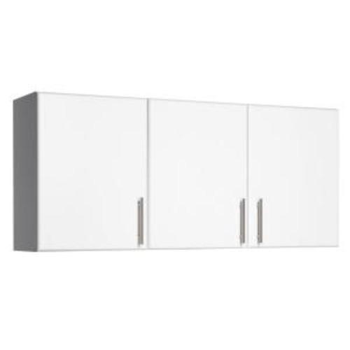 Prepac Elite 54 in. 3-Door Wall Cabinet in White