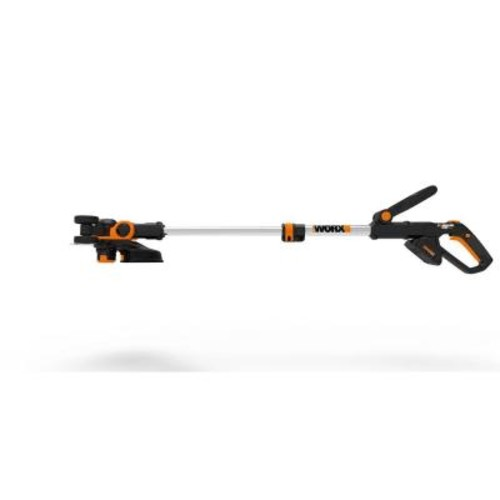 Worx 12 in. 20-Volt Max Lithium-Ion Cordless Grass Trimmer/Edger with 2 Batteries