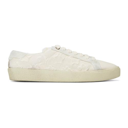 Beige Court Classic Sneakers