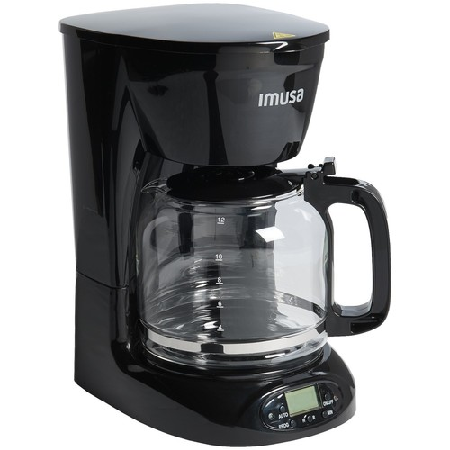 IMUSA Programmable Drip Coffee Maker - 12-Cup
