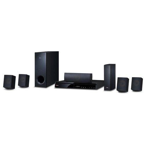 LG BH6830SW 5.1 3D Home Theater System with Blu-ray Player - BH6830SW