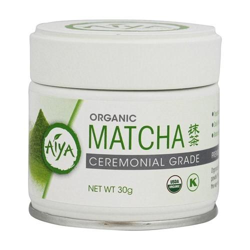 Aiya - Organic Matcha Cermonial Grade Tea - 30 Gram(s)