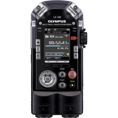 Olympus LS-100 24-Bit/96 KHz Multi-Track PCM Recorder V409121BU000
