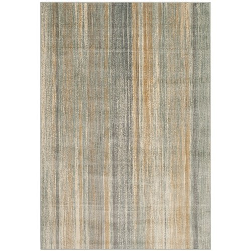 Safavieh Vintage Light Blue Abstract Distressed Silky Viscose Rug (8'10 x 12'2)
