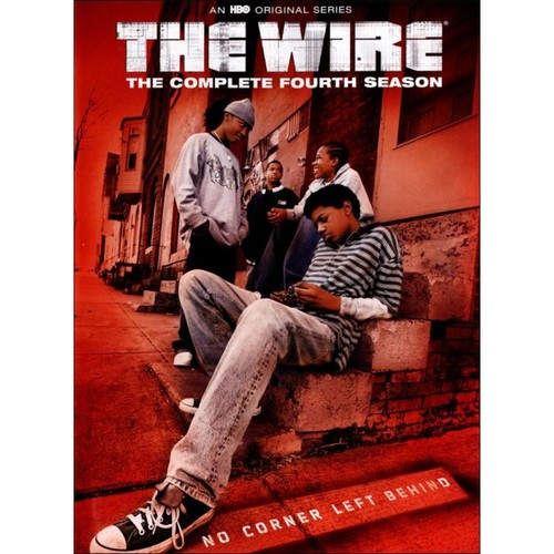 Wire: The Complere Fourth Season [4 Discs] (DVD)