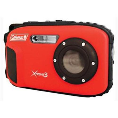 Coleman HD Waterproof Digital Camera in Red