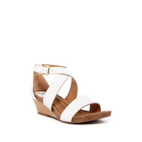 Vita Crisscross Wedge Sandal