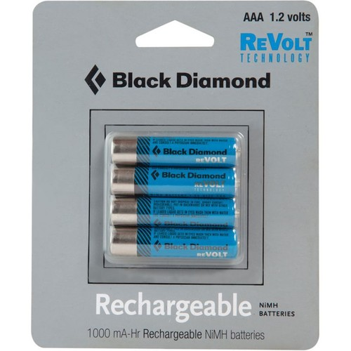 Black Diamond AAA Rechargeable Battery 4-Pack