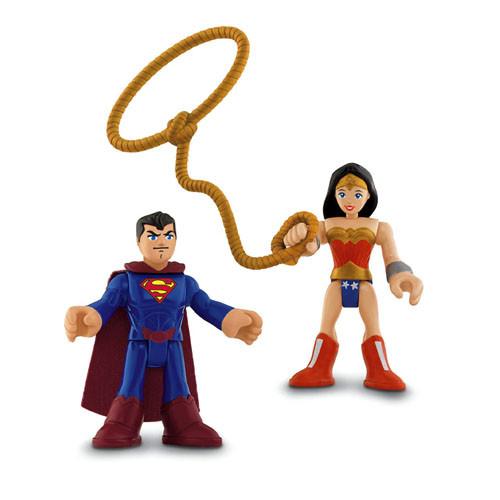 Imaginext DC Super Friends Superman & Wonder Woman