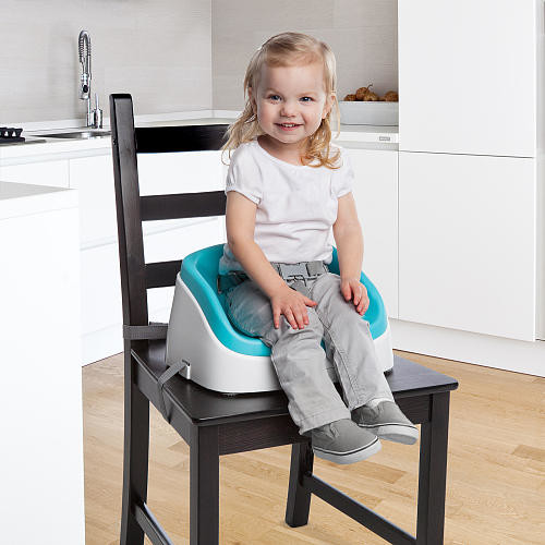 Ingenuity SmartClean Toddler Booster Seat - Aqua