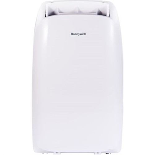 Honeywell HL14CESWW 14,000 BTU Portable Air Conditioner with Remote Control in White/White