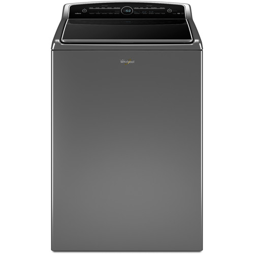 Whirlpool WTW8500DC 5.3 cu. ft. Cabrio Top Load Washer w/ Intuitive Touch Controls - Chrome Shadow