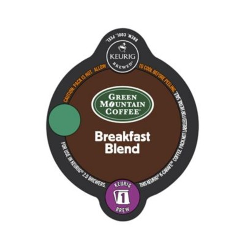 Keurig K-Carafe Pack 8-Count Green Mountain Coffee Breakfast Blend Coffee